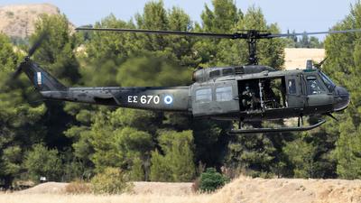 ES670 - Agusta-Bell AB-205A - Greece - Army