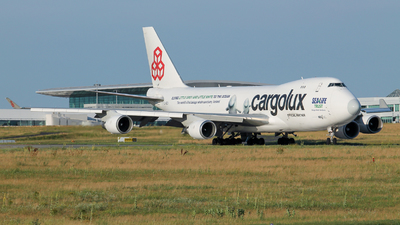 LX-ECV - Boeing 747-4HQERF - Cargolux Airlines International