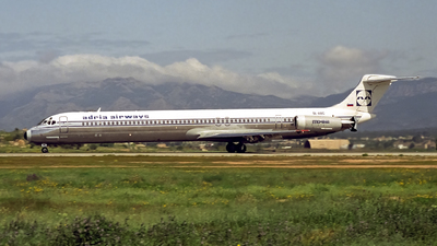 SL-ABC - McDonnell Douglas MD-82 - Adria Airways