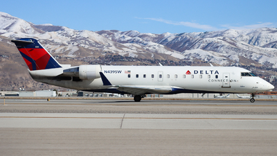 A picture of N439SW - Mitsubishi CRJ200LR - Delta Air Lines - © Ethan Peters