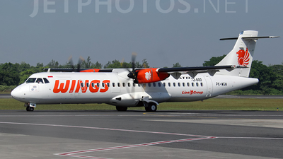 PK-WGW - ATR 72-212A(600) - Wings Air