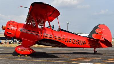 JA55BP - Waco YMF-5FC - Private