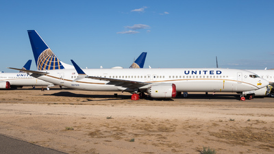 N37510 - Boeing 737-9 MAX - United Airlines