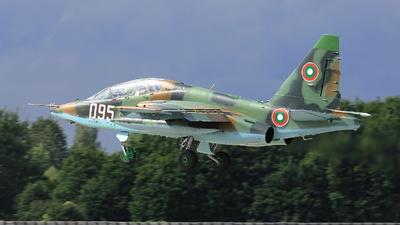 095 - Sukhoi Su-25UB Frogfoot - Bulgaria - Air Force