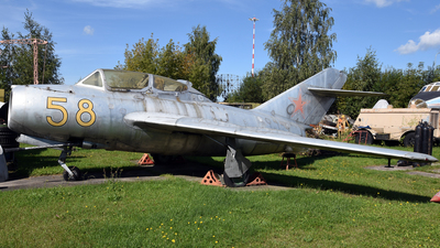 58 - Mikoyan-Gurevich MiG-15UTI Midget - Soviet Union - Air Force