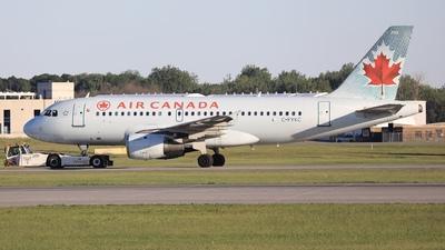 A picture of CFYKC - Airbus A319114 - Air Canada - © Hongyu Wang