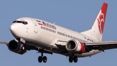 EP-TAF - Boeing 737-332 - ATA Airlines [Iran]