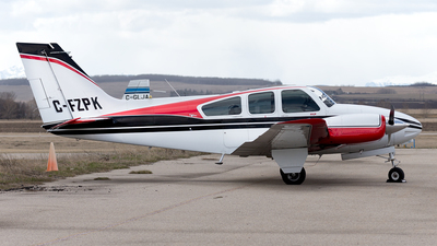 C-FZPK - Beechcraft 95-A55 Baron - Private