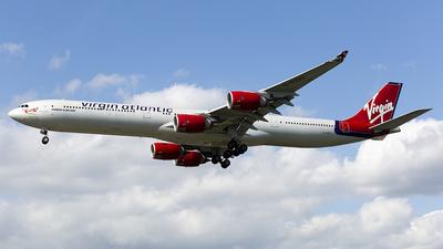 G-VYOU - Airbus A340-642 - Virgin Atlantic Airways