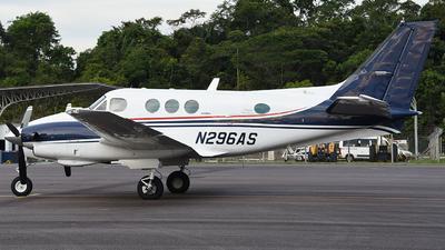 N296AS - Beechcraft C90 King Air - Private