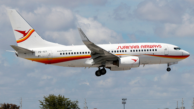 PZ-TCT - Boeing 737-752 - Surinam Airways