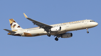 A6-AED - Airbus A321-232 - Etihad Airways