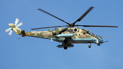 RF-13375 - Mil Mi-35M Hind - Russia - Air Force