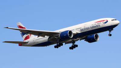 G-VIIF - Boeing 777-236(ER) - British Airways