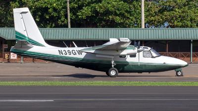 A picture of N39GW - Aero Commander 500S - [3096] - © Gerrit Griem