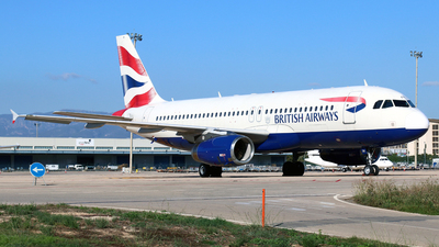 A picture of GMEDK - Airbus A320232 - British Airways - © Javier Rodriguez - Amics de Son Sant Joan