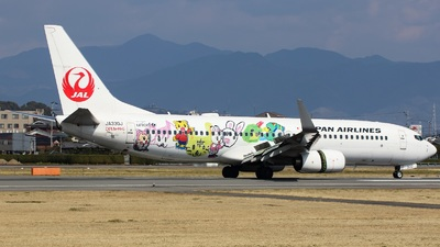JA330J - Boeing 737-846 - Japan Airlines (JAL)