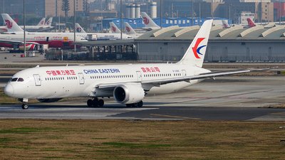 A picture of B206K - Boeing 7879 Dreamliner - China Eastern Airlines - © ECO707