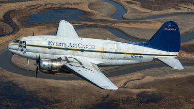 N7848B - Curtiss C-46R Commando - Everts Air Cargo