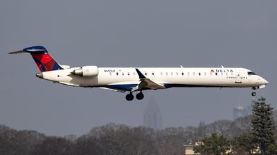 A picture of N605LR - Mitsubishi CRJ900LR - Delta Air Lines - © JinZi