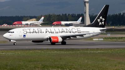 A picture of LNRRW - Boeing 737883 - SAS - © Kamil Pisarski