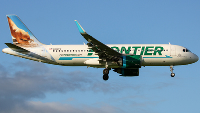 N352FR - Airbus A320-251N - Frontier Airlines