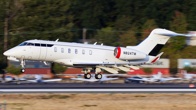 N824TM - Bombardier BD-100-1A10 Challenger 350 - Private