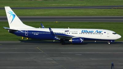 YR-BMJ - Boeing 737-82R - Blue Air