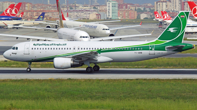 YI-ARB - Airbus A320-214 - Iraqi Airways