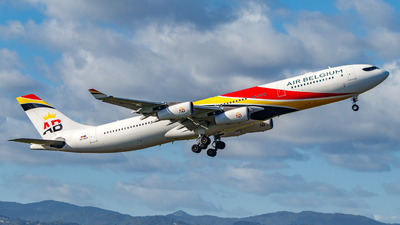A picture of OOABB - Airbus A340313 - Air Belgium - © CaptainWil972