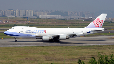 A picture of B18708 - Boeing 747409(F) - China Airlines - © BCG554