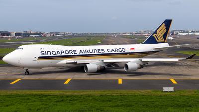 9V-SFI - Boeing 747-412F(SCD) - Singapore Airlines Cargo