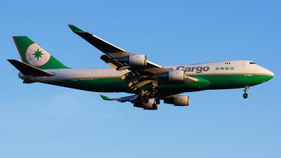 B-16482 - Boeing 747-45EF(SCD) - Eva Air Cargo