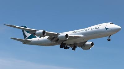 B-LJM - Boeing 747-867F - Cathay Pacific Cargo