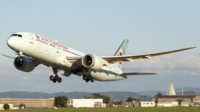 A picture of CFGDZ - Boeing 7879 Dreamliner - Air Canada - © Joel Basler