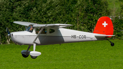 HB-COR - Cessna 140A - Private