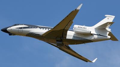 N343MG - Dassault Falcon 7X - Private