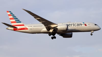 A picture of N803AL - Boeing 7878 Dreamliner - American Airlines - © Juan Manuel Temoche - SPJC Spotter