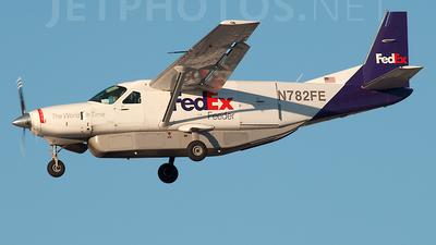 A picture of N782FE - Cessna 208B Super Cargomaster - FedEx - © Frank Buschmann