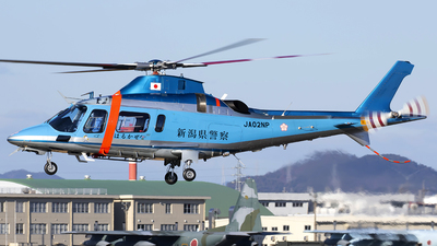 JA02NP - Agusta A109E Power - Japan - Police