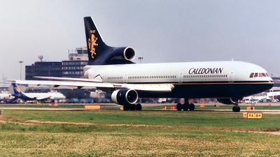 G-BBAE - Lockheed L-1011-100 Tristar - Caledonian Airways