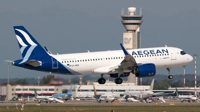 A picture of SXNEB - Airbus A320271N - Aegean Airlines - © Simone Previdi