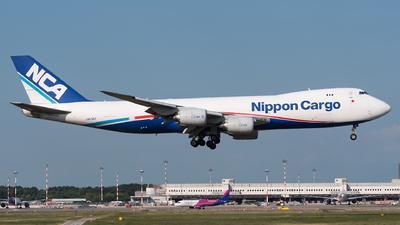 A picture of JA17KZ - Boeing 7478KZ(F) - Nippon Cargo Airlines - © Julian Mittnacht