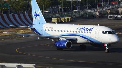 A picture of XAABM - Sukhoi Superjet 10095B - Interjet - © Alejandro Aceves