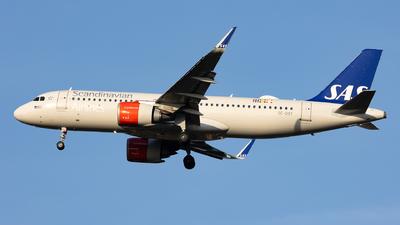 A picture of SEDOY - Airbus A320251N - SAS - © Francesco Cavallin