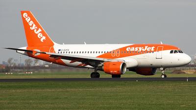 G-EZFO - Airbus A319-111 - easyJet