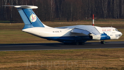 4K-AZ100 - Ilyushin IL-76TD-90SW - Silk Way Airlines