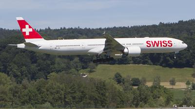 HB-JNE - Boeing 777-3DEER - Swiss