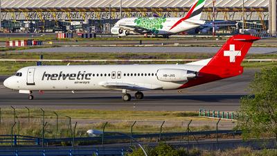 A picture of HBJVC - Fokker 100 - [11501] - © Manuel Llama - Benalmadena Spotters