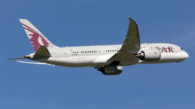 A picture of A7BCH - Boeing 7878 Dreamliner - Qatar Airways - © Hanjo Schrenk